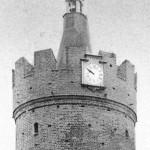 Zegar na Baszcie Ostrowskiej do 1945r.
