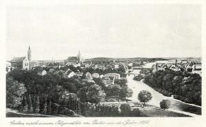 wstęp Guben nach einem Oelgemälde um das Jahr 1860 - 1941